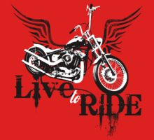 Live to Ride Kids Clothes