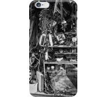 cluttered garage  iPhone Case/Skin
