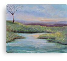 Soledad (lone tree in a Kenyan Landscape) Canvas Print