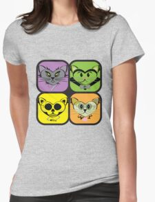 Cute, but Not Cuddly Womens Fitted T-Shirt