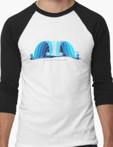 banzai pipeline Men's Baseball ¾ T-Shirt