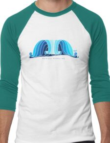 banzai pipeline Men's Baseball ¾ T-Shirt