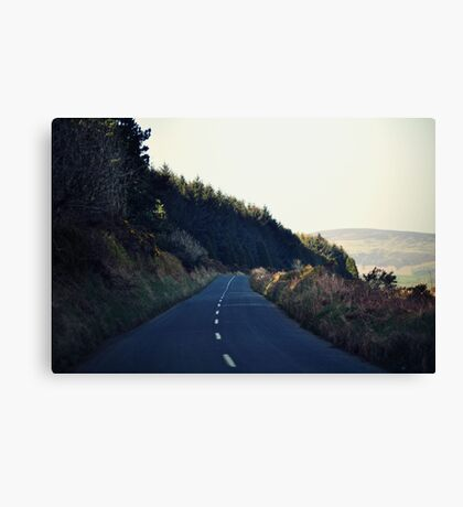 Country Roads (With a View to the Hills) Canvas Print