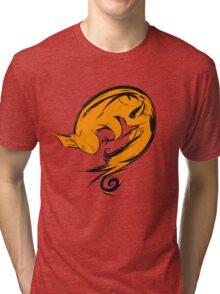 Swirl squirrel Tri-blend T-Shirt