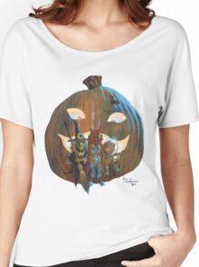 The Pumpkin Haunt Women's Relaxed Fit T-Shirt