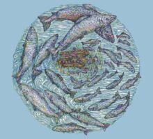 Salmon, the circle of life by artbyjehf