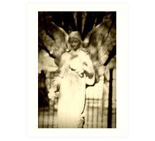 fae angel Art Print