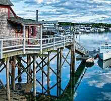 Boothbay Harbor by Claudia Kuhn