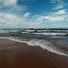 Brisk Day on Lake Superior by jrier