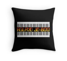 Vintage Roland JD-800 Synth Throw Pillow