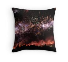 the sky came alive Throw Pillow