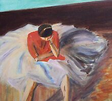 After Degas - Study in D by Pixie-Atelier
