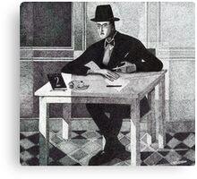 Fernando Pessoa Canvas Print