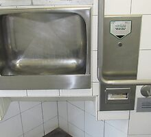 Not the Urinal BUT the sink! by D. D.AMO