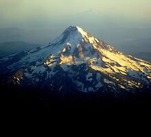 Mt Hood from Up Above by Patricia  Butler