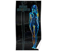 Neon Knights Poster