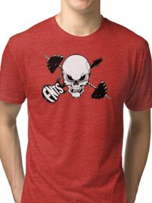 Skull Fitness RockStar Tri-blend T-Shirt