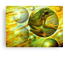 Effervescent Stream Canvas Print
