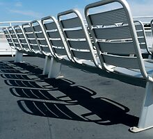 Vineyard Ferry Seats by phil decocco
