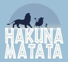 HAKUNA MATATA (night edition) One Piece - Short Sleeve
