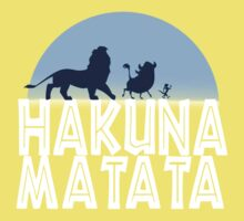 HAKUNA MATATA (night edition) One Piece - Short Sleeve