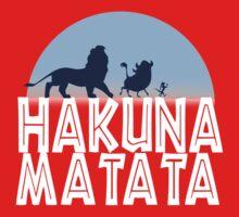 HAKUNA MATATA (night edition) Kids Tee