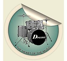 Drums The Heart Photographic Print