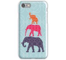 Elephant Family iPhone Case/Skin