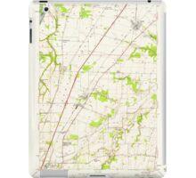 USGS Topo Map Oregon Gervais 280013 1957 24000 iPad Case/Skin