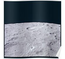 Apollo Archive 0058 Moon Craters from Orbit Poster