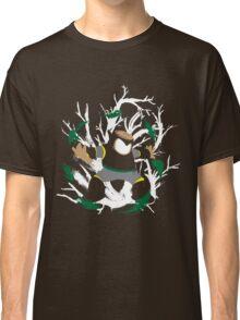 Wood Man Splattery Vector T Classic T-Shirt