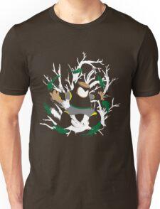 Wood Man Splattery Vector T Unisex T-Shirt