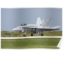 F/A-18 Poster