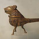 """Kabul Museum, """"three-legged bird"""" by yoshiaki nagashima"""