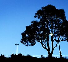 Street Silhouette from Rippleside by ShineArt