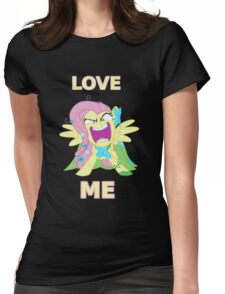 Flutter Rage Womens Fitted T-Shirt