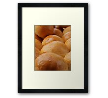 French Pastry  Framed Print