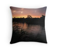 Night Encroaches... Throw Pillow
