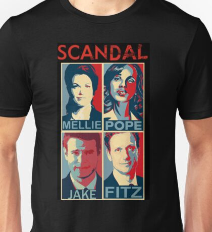 """Scandal - """"You have a Ph.D. in his crazy."""" - Olivia Pope Unisex T-Shirt"""