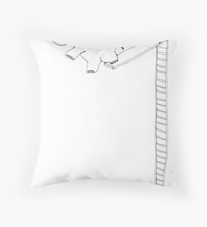 kerpluck Throw Pillow