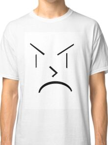 Angry Face Classic T-Shirt