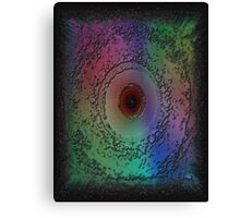 Multi-colored Storm Eye Canvas Print