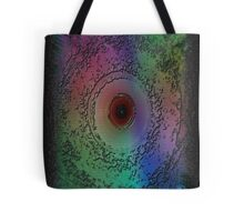 Multi-colored Storm Eye Tote Bag