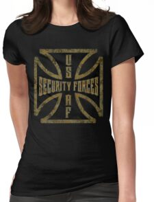 Iron Cross Security Forces Womens Fitted T-Shirt