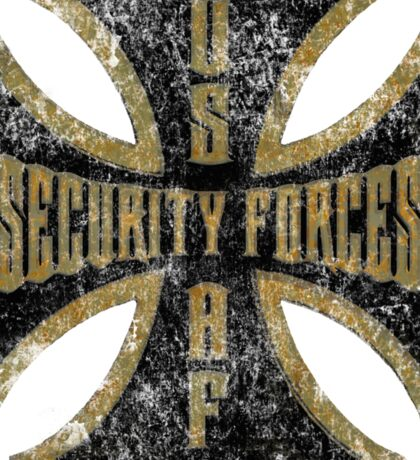 Iron Cross Security Forces Sticker