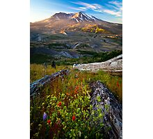 Mount St Helens Dawn Photographic Print