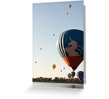 Touch and Go Greeting Card