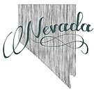 Nevada State Typography by surgedesigns
