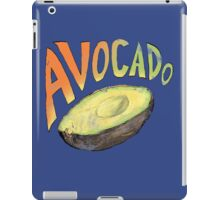 Avocado (Grunge Edition) iPad Case/Skin