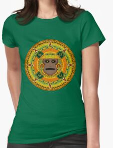 ancient god Womens Fitted T-Shirt